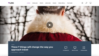 Take video blogging to the next level with WordPress Vlog theme