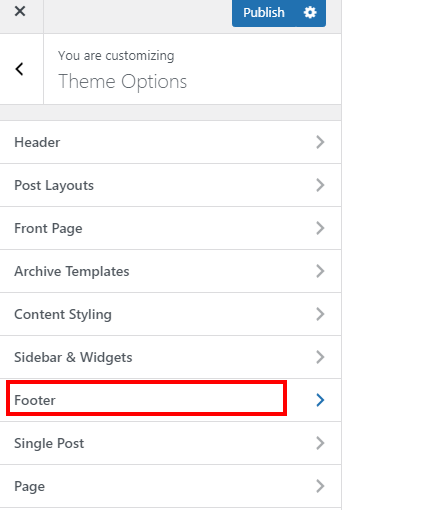 How to edit footer in WordPress