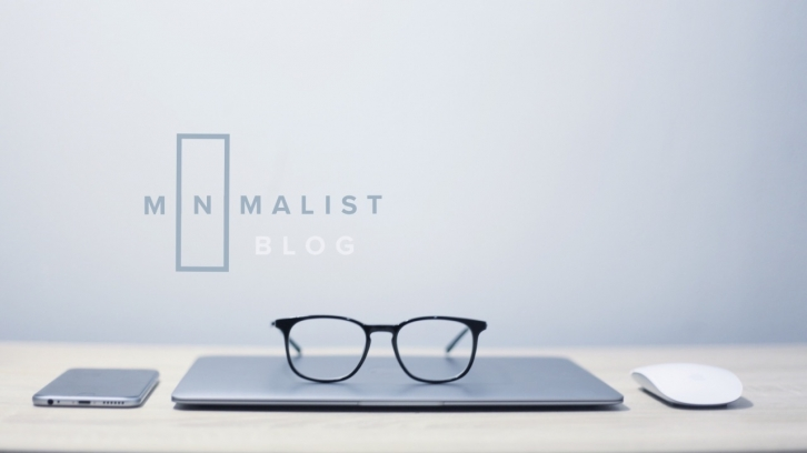 How to create a minimalist blog using WordPress?