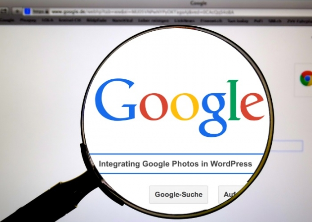 google search integrating google photos in WordPress