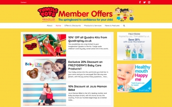 Tumble Tots Members Offers