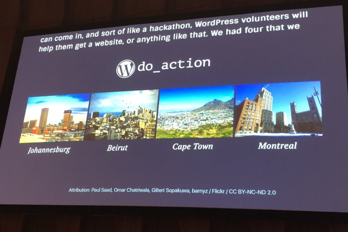 project do_action on state of the word