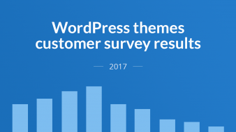 Premium WordPress themes customer survey 2017 by Meks – the value of customer insights