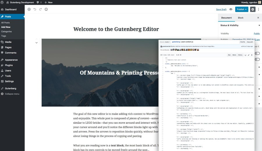 gutenberg development tip 14