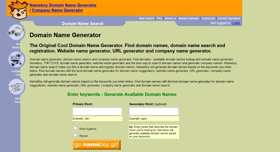 blog name generator nameboy