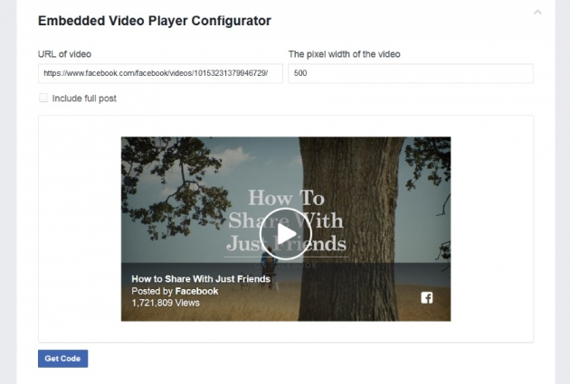How to embed Facebook video in WordPress | Meks