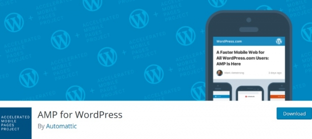 WordPress blogger plugins AMP