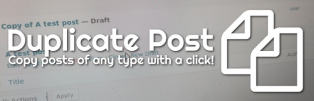 duplicate a page in wordpress duplicate post plugin