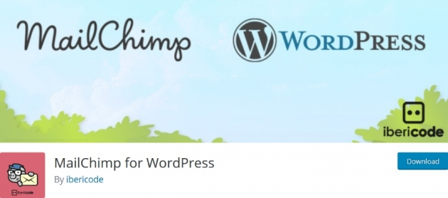 marketing wordpress plugins mailchimp for wordpress