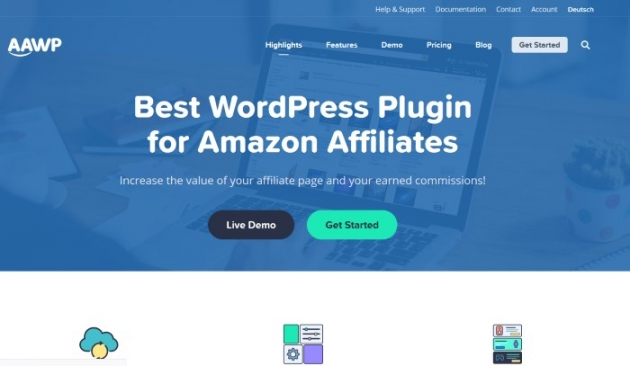 Amazon affiliate plugin for affiliate marketing business