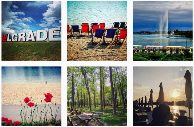 instagram worthy places in belgrade ada ciganlija