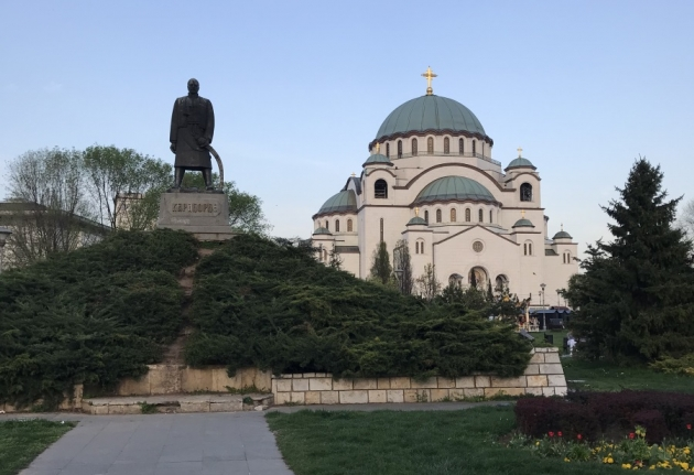 instagram worthy places in belgrade saint sava temple