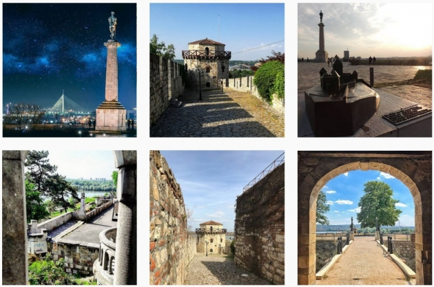 instagram worthy places in belgrade kalemegdan