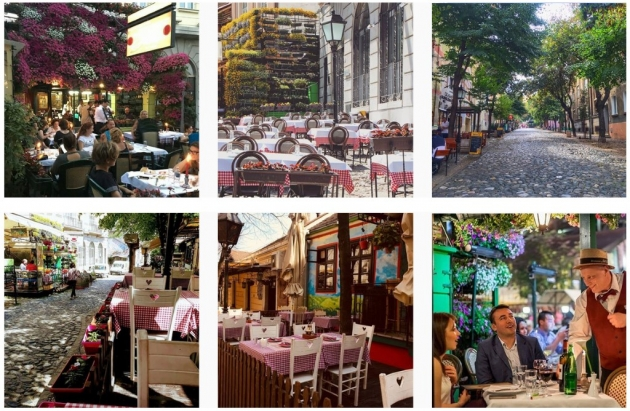 instagram worthy places in belgrade skadarlija