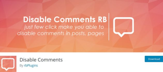 wordpress-disable-comments-plugin-rb-plugins