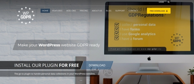 WordPress GDPR guide WP GDPR plugin