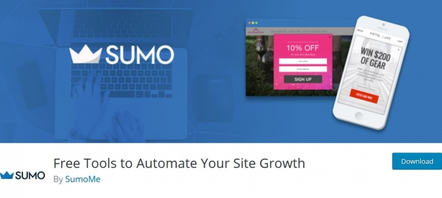 WordPress popup plugins SumoMe