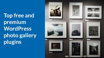 Top free and premium WordPress photo gallery plugins for your website