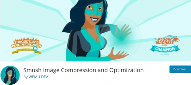 smush image compression and optimization wordpress seo plugin