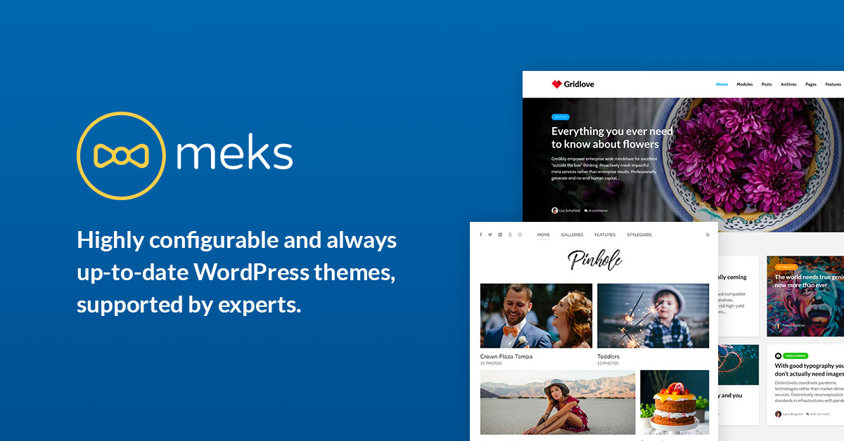 Meks | Premium Quality WordPress Themes and Plugins