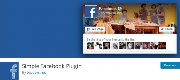 Simple Facebook Plugin for WordPress