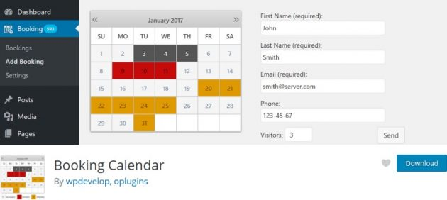 wordpress-calendar-plugins-booking