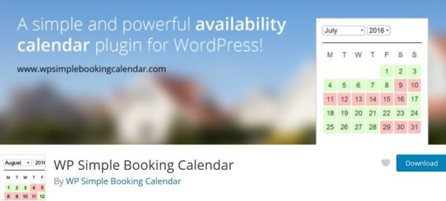 wordpress-calendar-plugins-wp-simple-booking-calendar