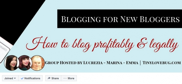 Blogging for new bloggers facebook groups for bloggers