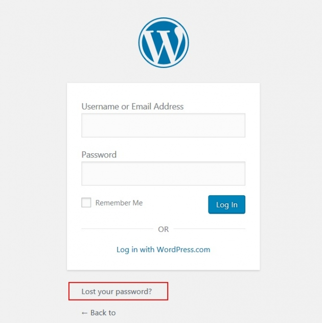 reset-wordpress-password-with-recovery-email