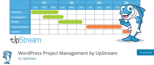 UpStream-wordpress-project-management-plugins