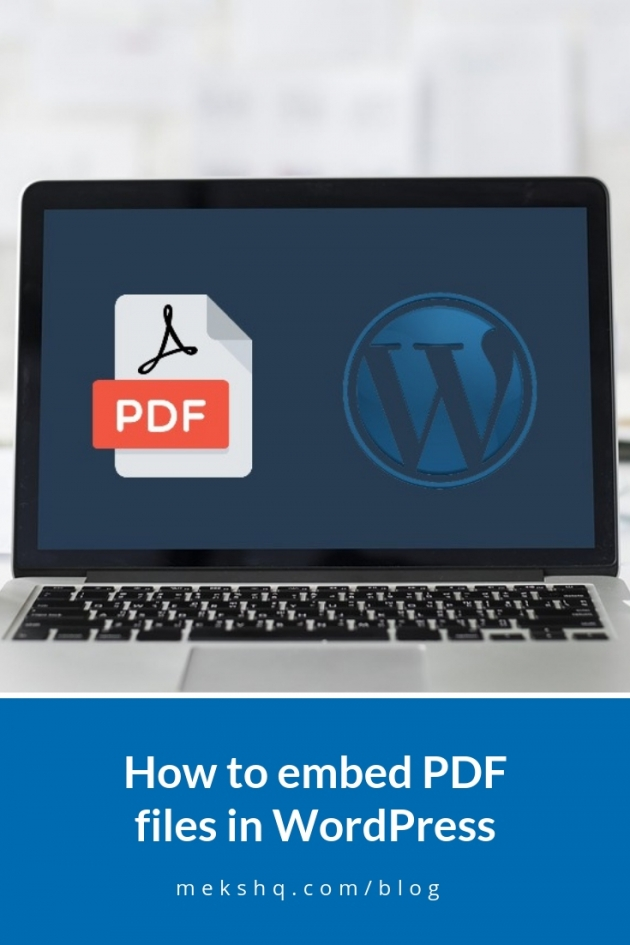 how-to-embed pdf in wordpress