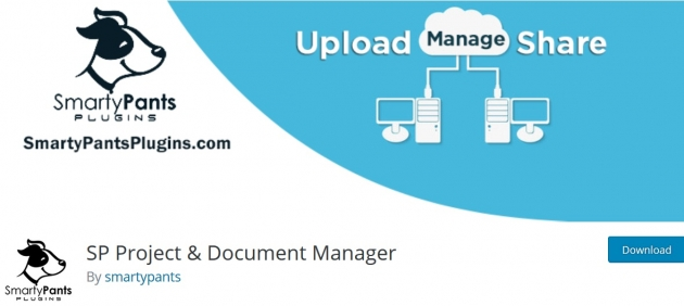 sp-project-and-document-manager-wordpress-project-management-plugins