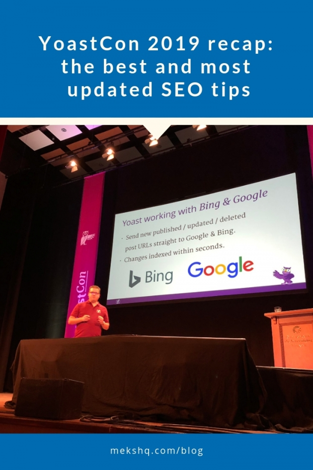 yoastcon seo tips 2019