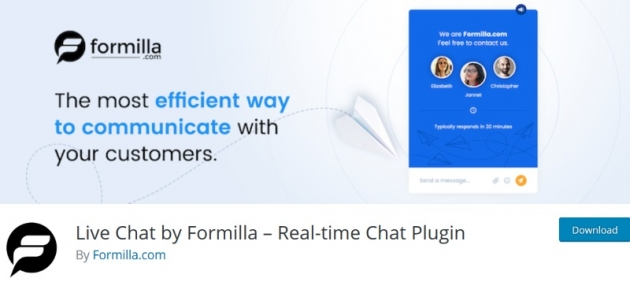 live-chat-by-formilla-wordpress-chat-plugin