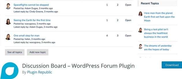best-forum-plugin-for-wordpress-disscusion-board