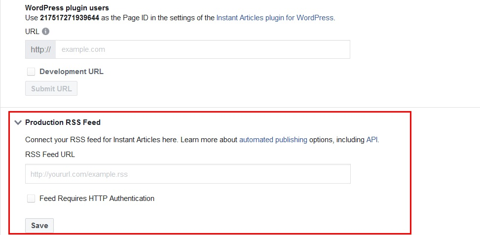 Easily setup Facebook instant articles for your WordPress website