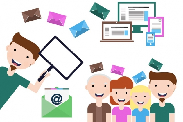 cartoon-people-happy-about-email-list-building-tools