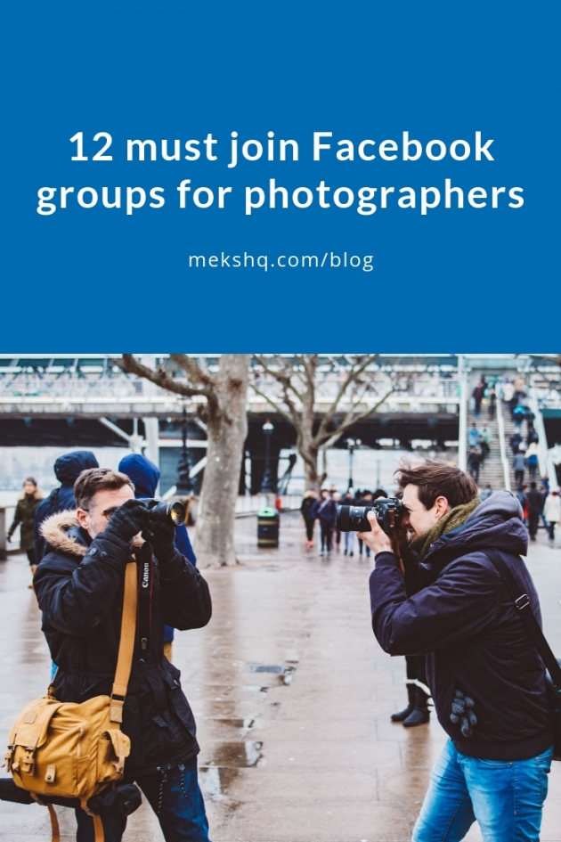 12 must join Facebook groups for photographers