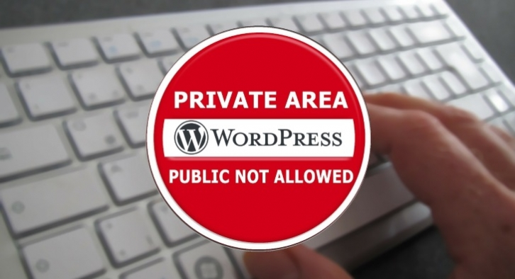 Easy guide on how to make your WordPress site private