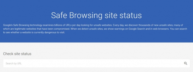 google-safe-browsing-checker