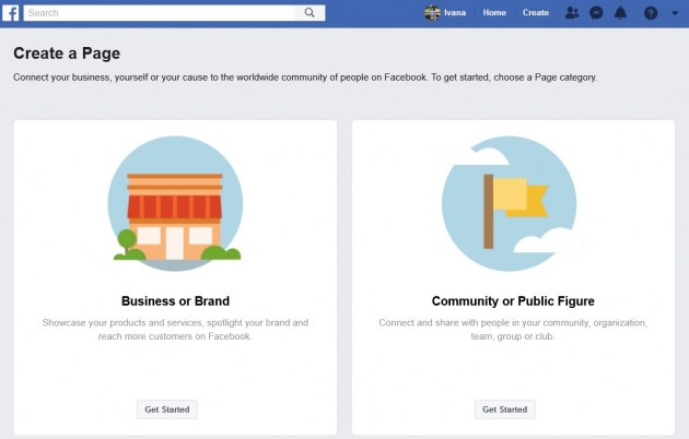 how-to-create-a-facebook-page-for-your-blog-first-step-screenshot