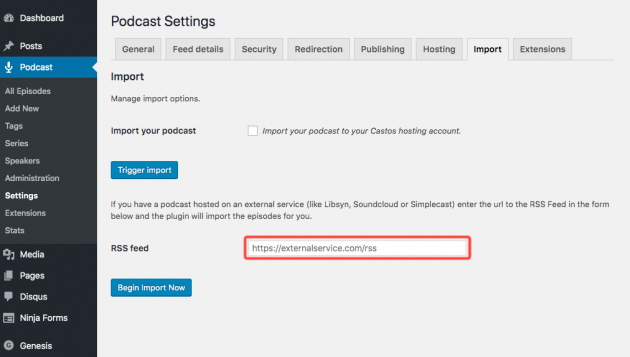 wordpress-audio-player-plugin-seriously-simple-podcasting-screenshot